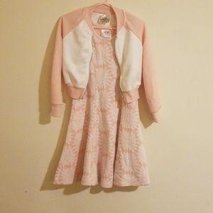 Little girls jacket dress